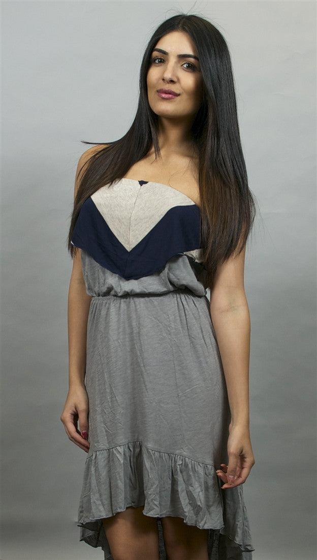 Woodleigh Short High Low Dress in Grease