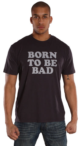 Worn Free Mens Joan Jett Born To Be Bad Tee