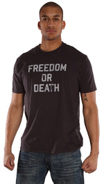 Worn Free Mens Lester Bangs Freedom or Death Tee