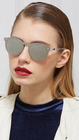 ShopAA ShopShade Fashion Sunglasses Silver Mirror