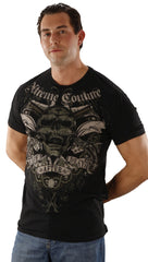 Xtreme Couture Mens Life After Death Tee Shirt Black