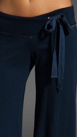 Young Fabulous & Broke Wide Leg Pant in Midnight