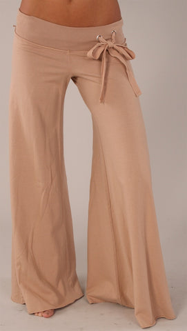 Young Fabulous & Broke Wide Leg Pant in Tan