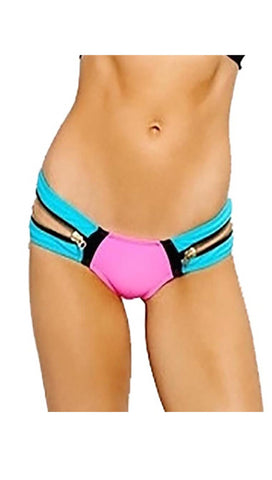 Beach Bunny Swimwear Endless Summer Bikini Bottom in Hot Pink