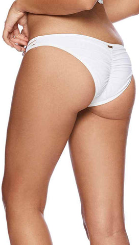 Beach Bunny Hard Summer Skimpy Bikini Bottoms White Swimwear | ShopAA