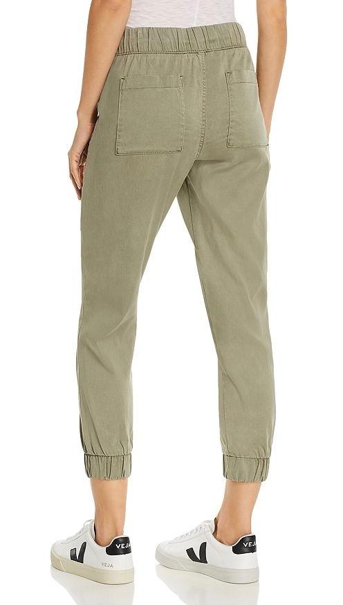 Bella Dahl Pocket Jogger Pants Soft Army Green | ShopAA