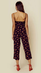 Blue Life Elle Jumpsuit Black Poppy Field