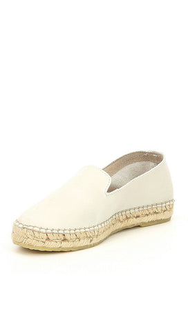 Free People Laurel Canyon Espadrille Slip Ons White Shoes I ShopAA