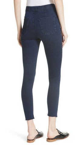 Free People Easy Goes It Denim Legging Dark Blue Jegging Pant l ShopAA
