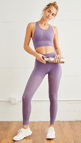Free People Self-Hem Ecology Legging Purple Moon FP Movement | ShopAA
