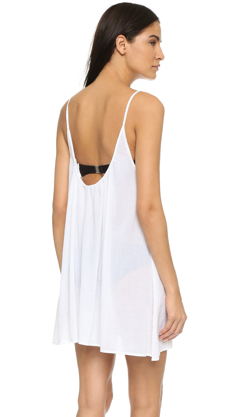 9Seed St. Barts Cover Up Mini Tank Dress