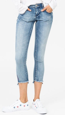 One Teaspoon Freebirds II Low Waist Skinny Denim Cobaine