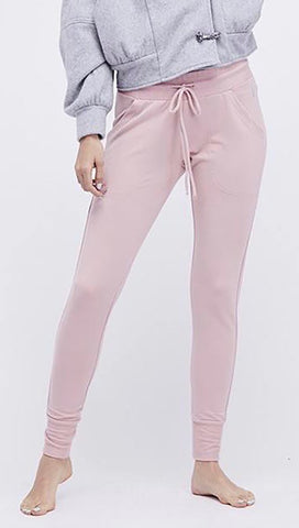 Free People Free People Sunny Skinny Sweats Pants Pink | ShopAA