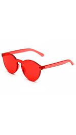 Brixy Red Shield Sunglass Fashion Eye Wear Shades SHOPAA