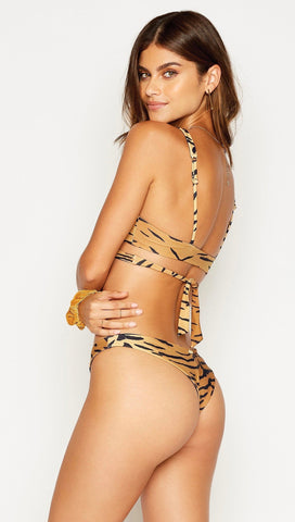 Sydney Tango Bikini Bottoms Tiger | Beach Bunny Swimwear | ShopAA
