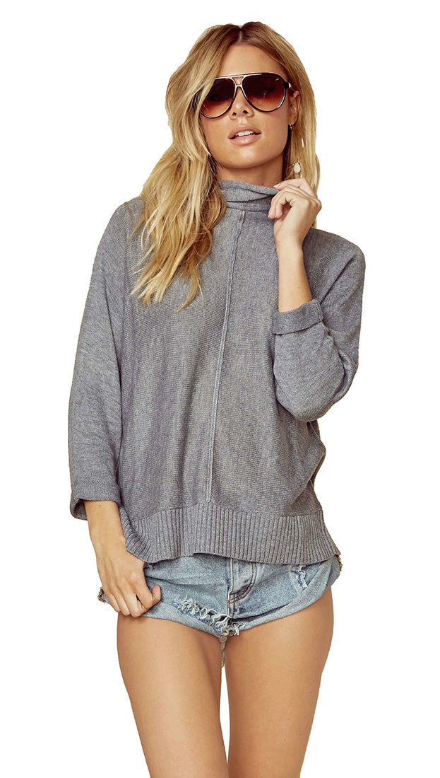 n:Philanthropy Kundi Zip Sweater Storm Grey