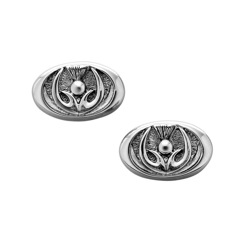 Thistle Cufflinks - Gents