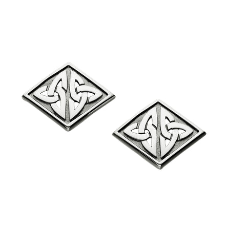 Kells Diamond Shaped Cufflinks - Gents