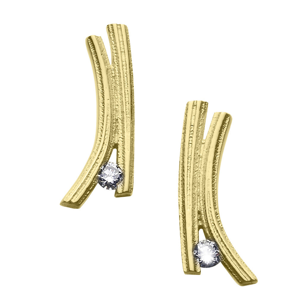 Woodwick Diamond Earrings