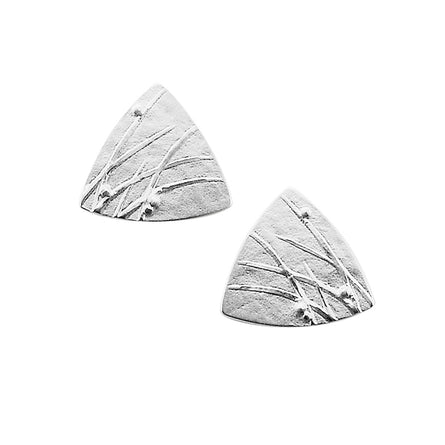 Mistral Triangular Stud Earrings