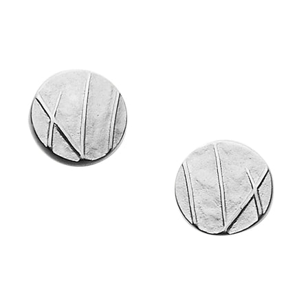 Mistral Round Stud Earrings