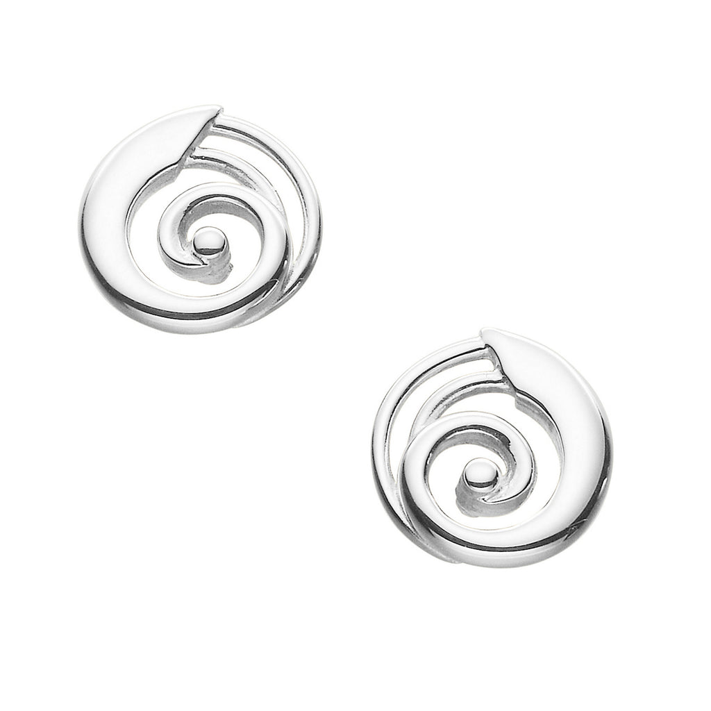 Kells Round Stud Earrings