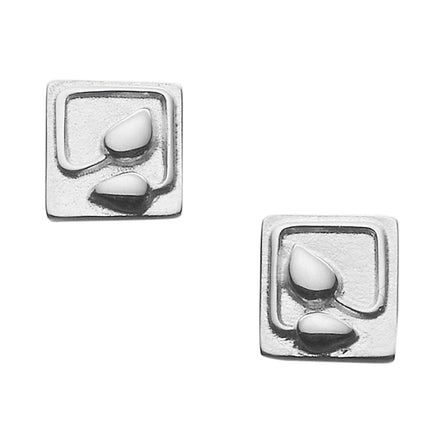 Willow Square Stud Earrings
