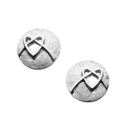 Faray Round Stud Earrings