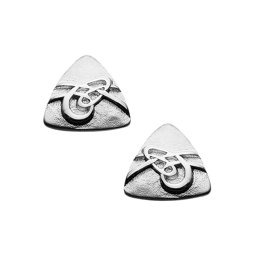 Aikerness Triangular Stud Earrings