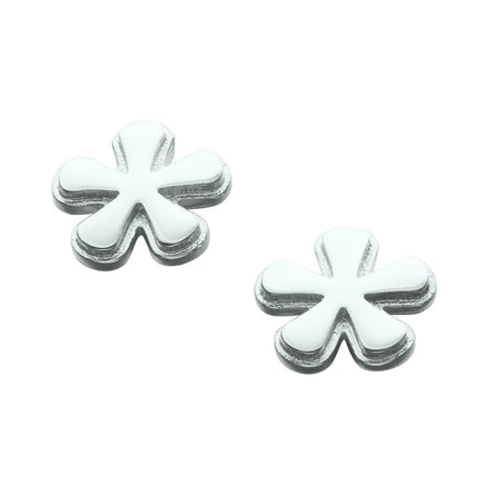 Petal-fall Single Stud Earrings