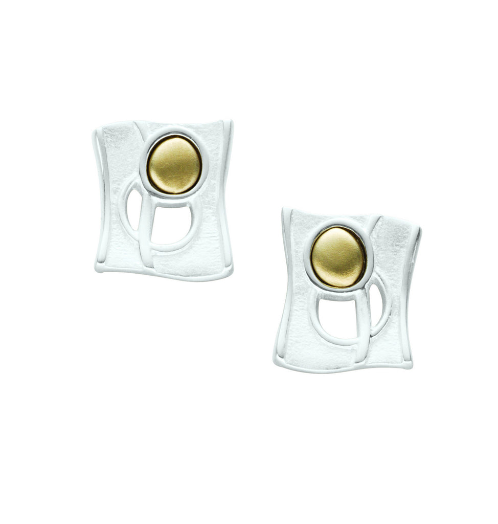 Flow  Large Stud Earrings