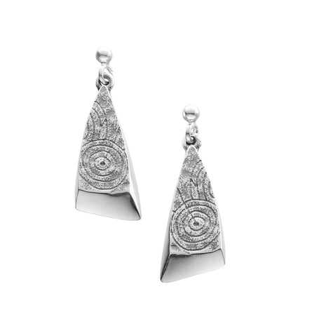 Kilmartin Small Triangular Drop Earrings