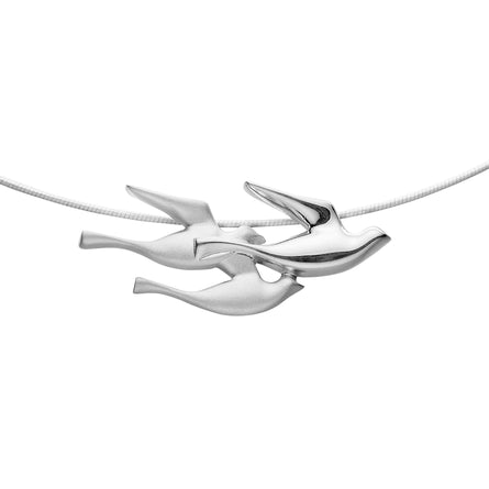 Birdland Triple Bird Necklet
