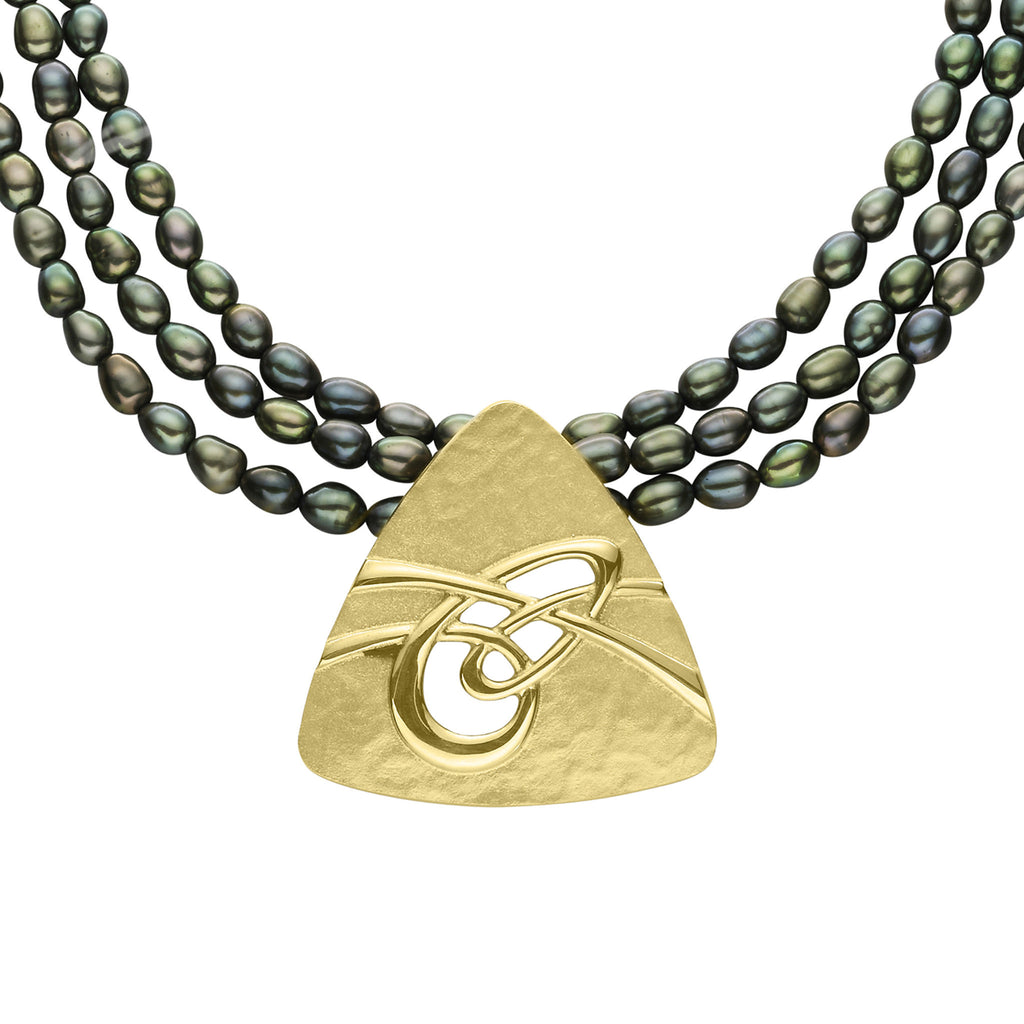 Aikerness Green Pearl Pendant