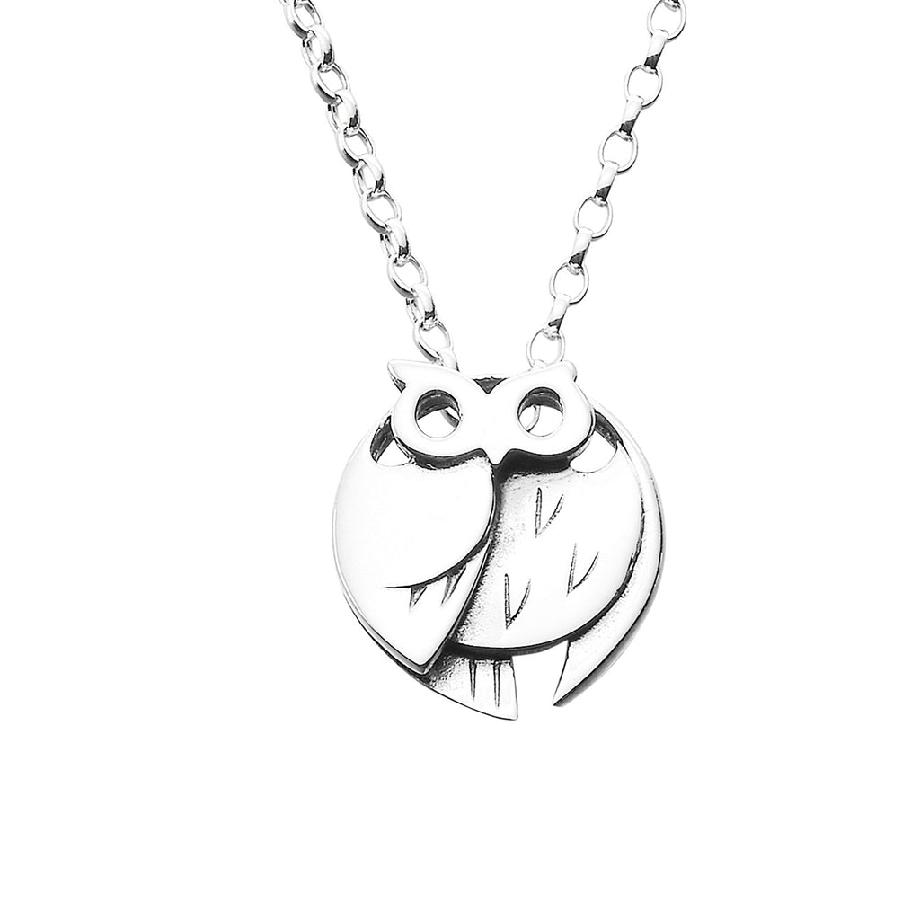 Barn Owl Small Pendant