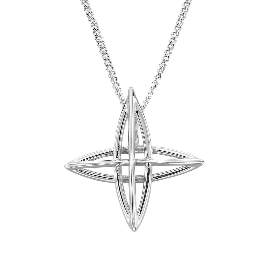 North Star Cross Pendant