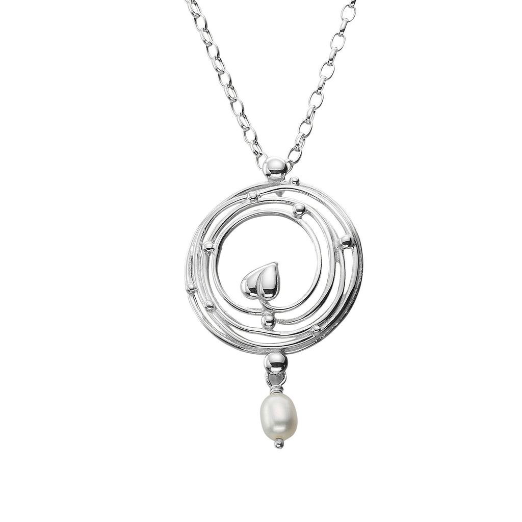 Willow White Pearl Pendant