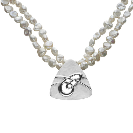 Aikerness White Pearl Pendant