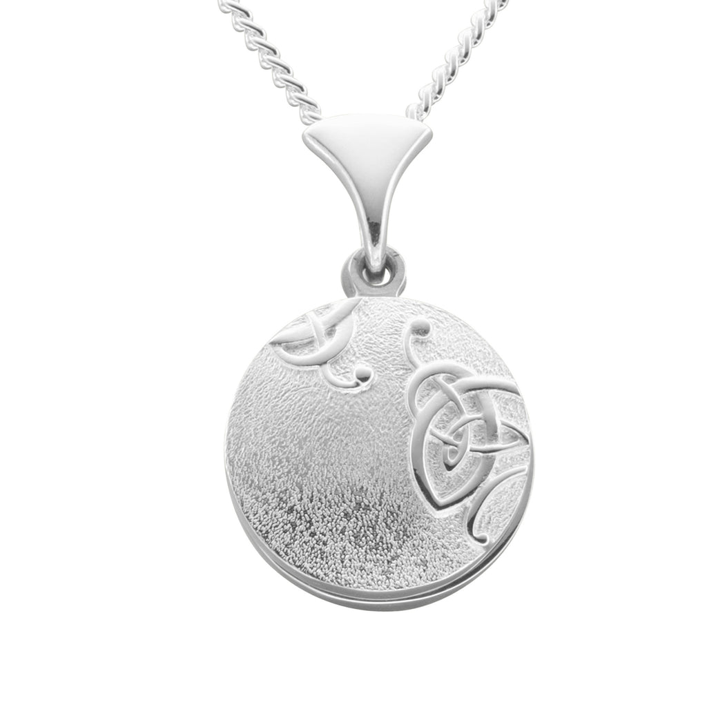 sterling locket lockets northgate edge scroll jewellers silver celtic oval