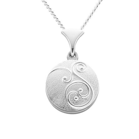 Celtic Secrets Swirl Locket
