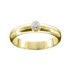 Tryst Diamond Scottish Engagement Ring Gold