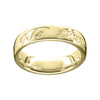 Robert Burns Women's Scottish Ring Gold