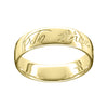 Robert Burns Men's Polished Ring
