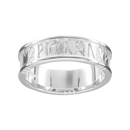 Runic 'I Love You' Ladies Ring