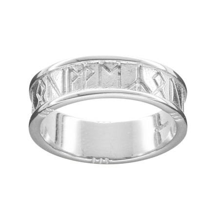 Runic 'I Love You' Men's Ring