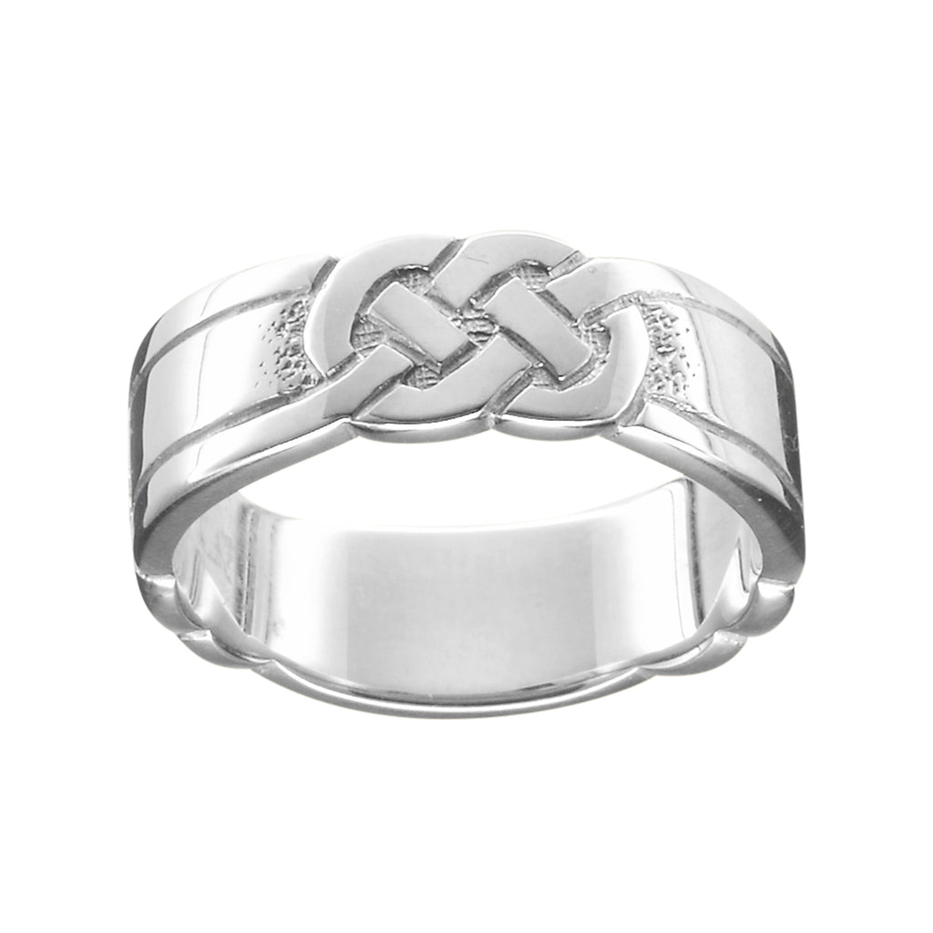 Celtic Knot Ladies Ring