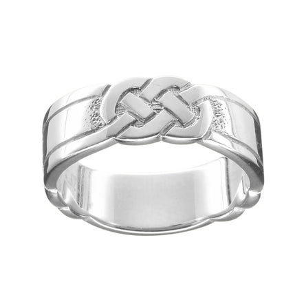 Celtic Knot Ladies Scottish Ring