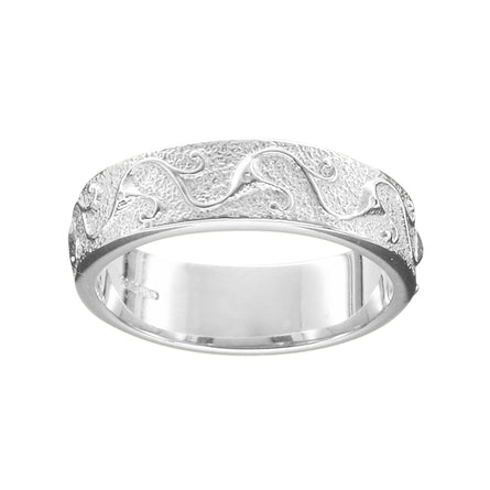 Stroma Ladies Silver Scottish Wedding Ring