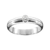 Tryst Diamond Scottish Engagement Ring Silver