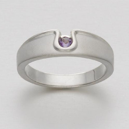 Echo Amethyst Ring